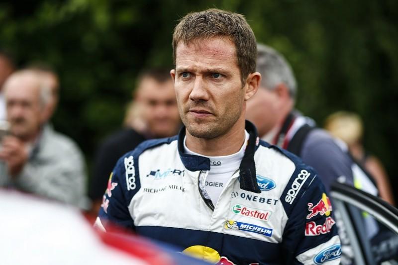 Sebastien Ogier crash ends M-Sport Rally Finland test early
