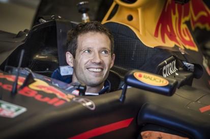 World Rally champion Sebastien Ogier tries Red Bull Formula 1 car