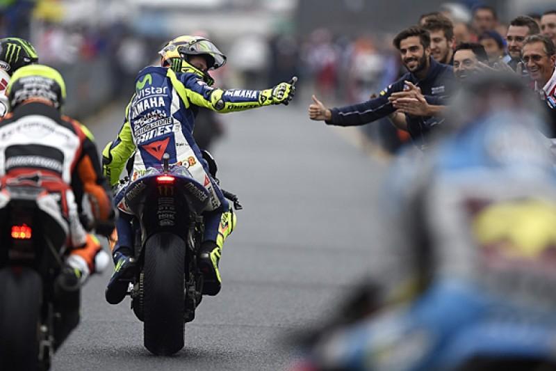 Valentino Rossi ignoring maths in Jorge Lorenzo MotoGP title fight