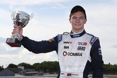 BRDC Formula 4 stars Will Palmer, Harrison Newey in F3 test debuts