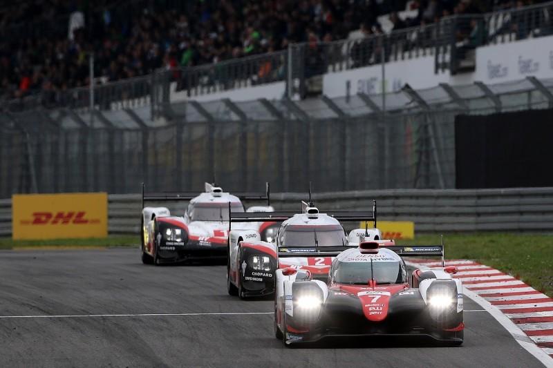 Toyota reveals aero damage hurt it in Nurburgring WEC race