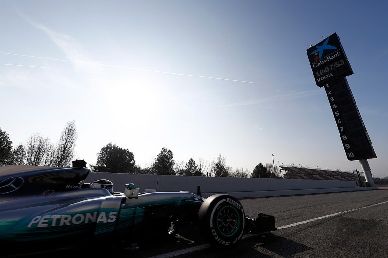 Formula 1 2018 testing schedule revealed
