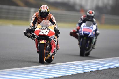 Late tyre call key to Dani Pedrosa's Motegi MotoGP win for Honda