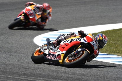 Honda MotoGP riders Marquez and Pedrosa to test new chassis at Brno