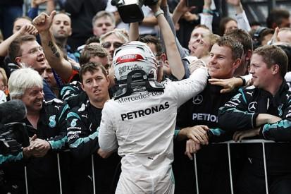 Ross Brawn still part of Mercedes F1 success - Lewis Hamilton