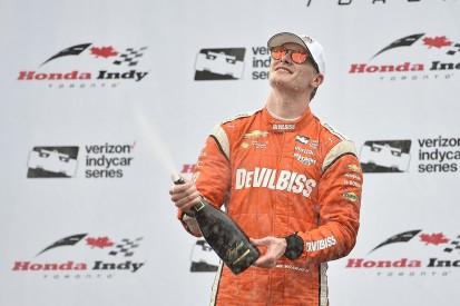 Toronto IndyCar: Josef Newgarden benefits from yellow to win