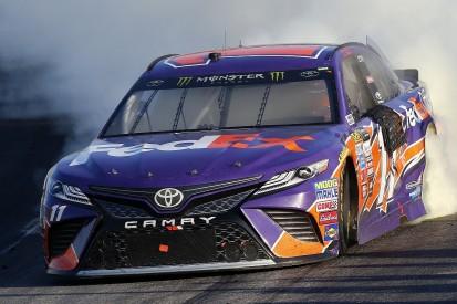 New Hampshire NASCAR: Hamlin gets Joe Gibbs Racing's first 2017 win