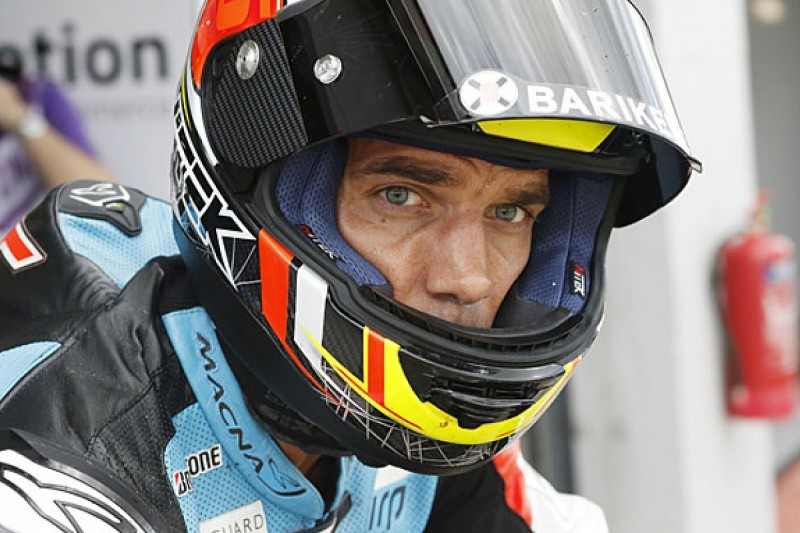 Alex de Angelis in a critical condition after MotoGP Motegi crash