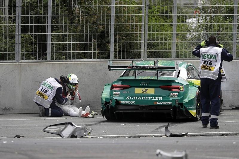 Audi lines up de Vries for DTM debut if Rockenfeller cannot race