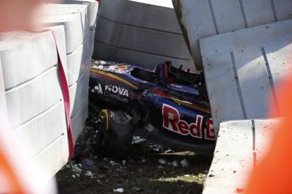 Toro Rosso's Carlos Sainz Jr had 46G impact in F1 Russian GP shunt