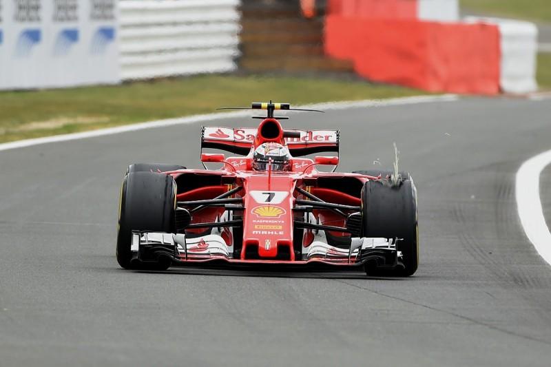 Ferrari's Raikkonen, Vettel had no warning of British GP tyre drama