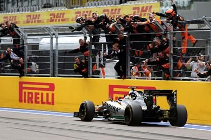 Russian GP F1 podium proves Sergio Perez is in his 'best moment'