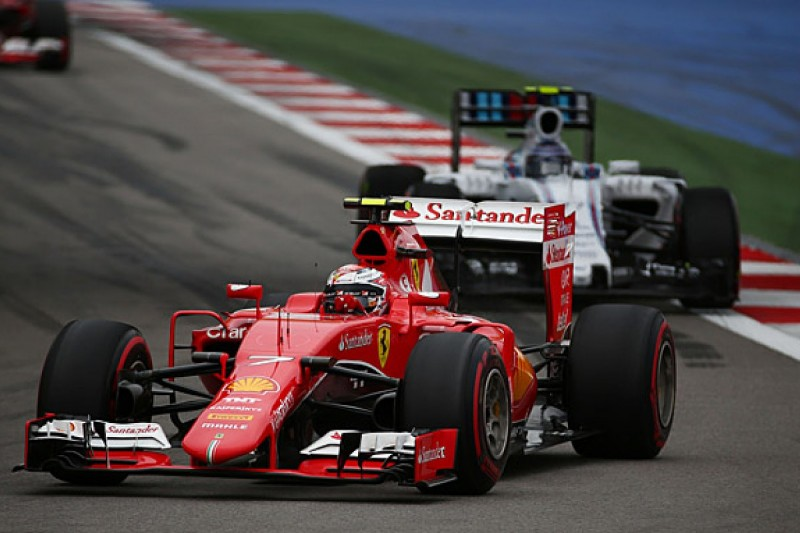 Kimi Raikkonen given penalty for Russian GP Valtteri Bottas clash
