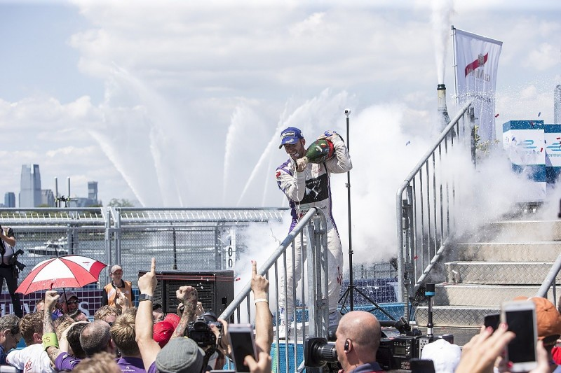 DS Virgin's Sam Bird doubles up with second New York ePrix victory