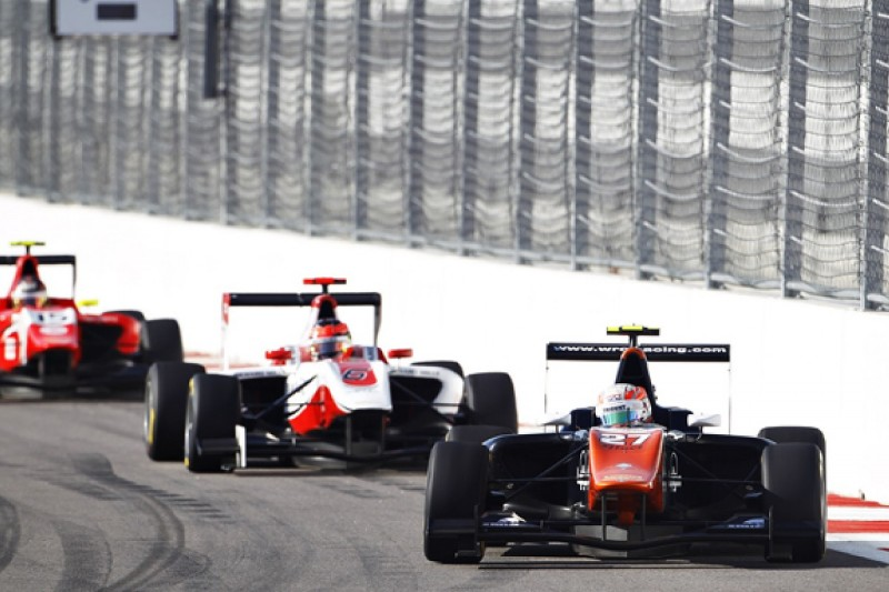 Sochi GP3: Ghiotto beats title rival Ocon in delayed first race
