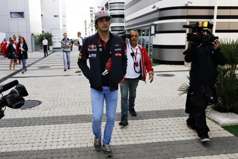 Toro Rosso's Carlos Sainz Jr cleared to race in F1 Russian GP