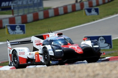 Polesitter Toyota 'on the back foot' at WEC Nurburgring