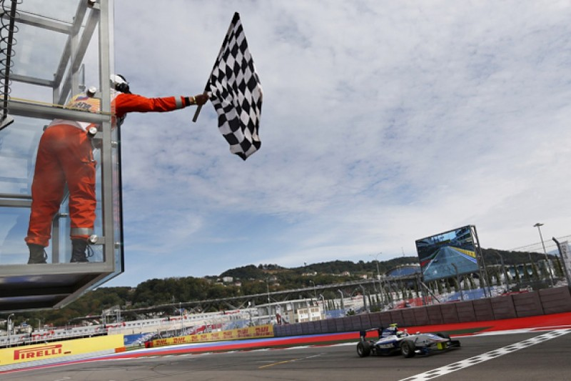 Sochi GP3: Eriksson takes first win, Ocon closes on points lead