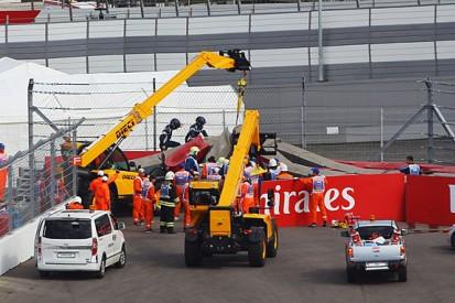Sebastian Vettel shocked by Carlos Sainz's Russian GP F1 crash