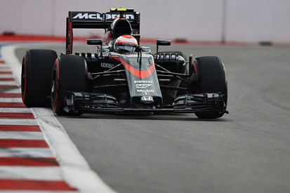 Russian GP: Jenson Button says McLaren is taking risks ahead of 2016