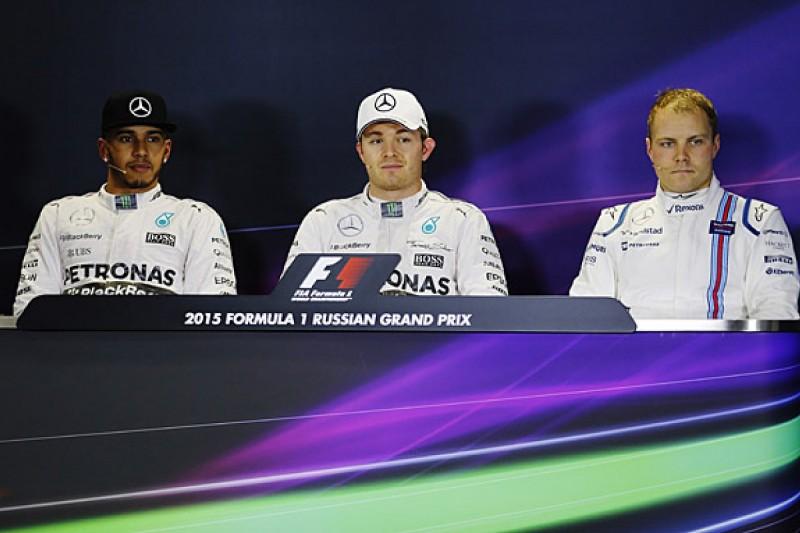 Russian Grand Prix FIA qualifying press conference transcript