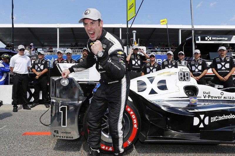 Toronto IndyCar: Penske's Simon Pagenaud takes first 2017 pole