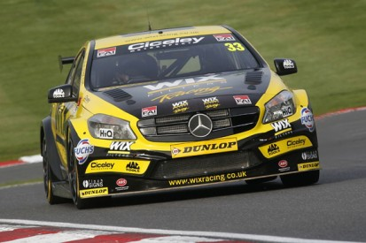 Brands Hatch BTCC: Morgan leads title contender Plato in practice
