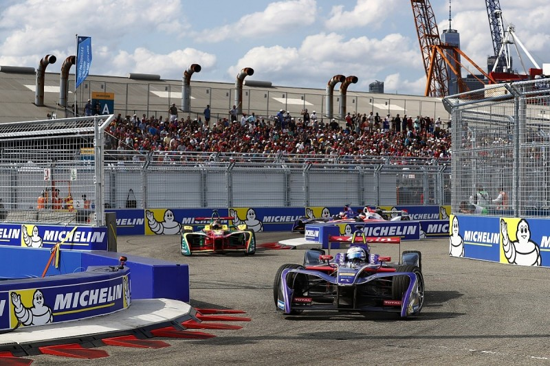 New York Formula E: DS Virgin's Sam Bird takes first win of season