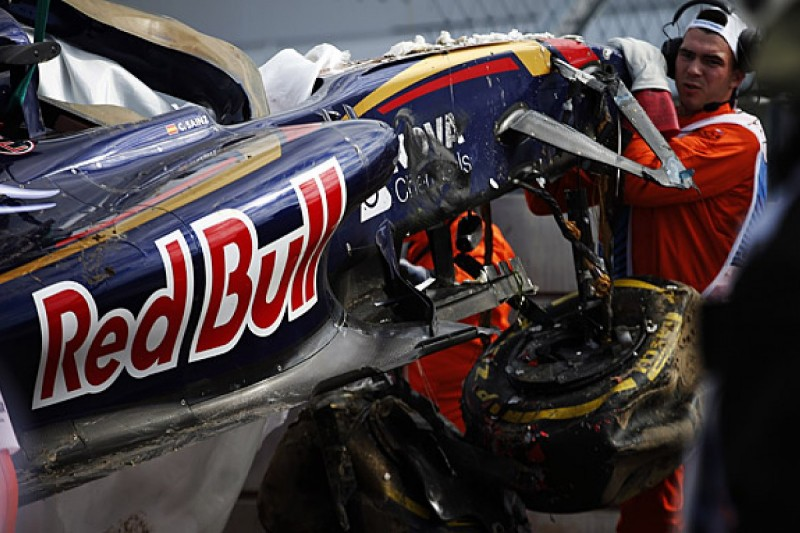 Carlos Sainz Jr hopes to be allowed to race in Russia after crash