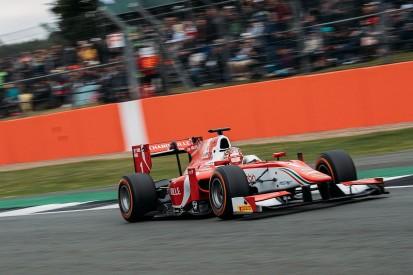 Charles Leclerc oil leak smoke caused panic for Prema F2 team