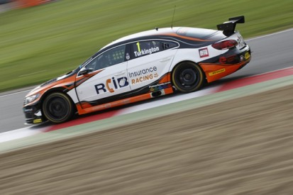 Brands Hatch BTCC: Reigning champion Turkington tops practice two