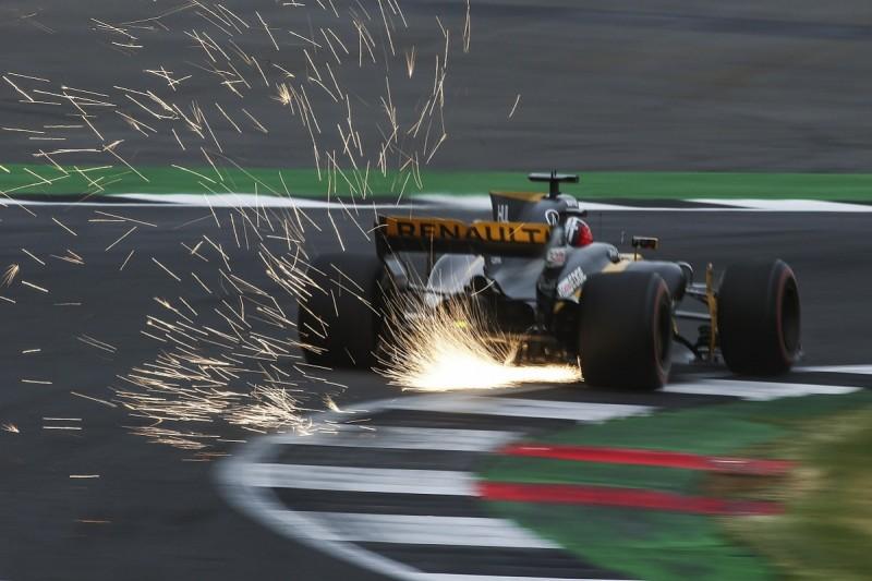 New floor key to Hulkenberg qualifying fifth for British GP - Renault
