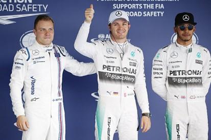Russian GP: Nico Rosberg beats Lewis Hamilton to F1 pole position