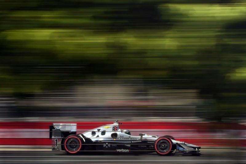 Toronto IndyCar: Simon Pagenaud leads Penske 1-2-3-4 in practice
