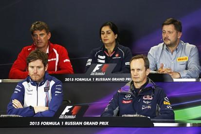 Russian Grand Prix Friday FIA press conference transcript