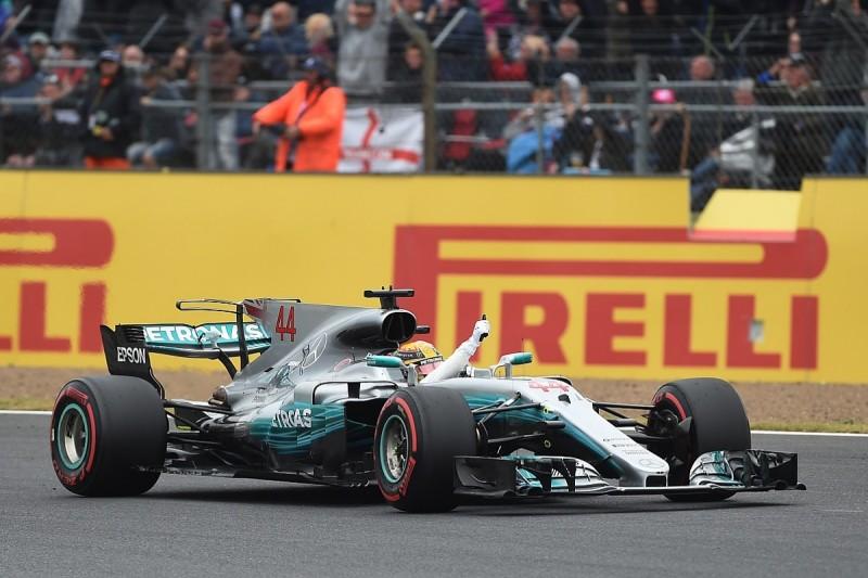 Lewis Hamilton on British Grand Prix pole but under investigation