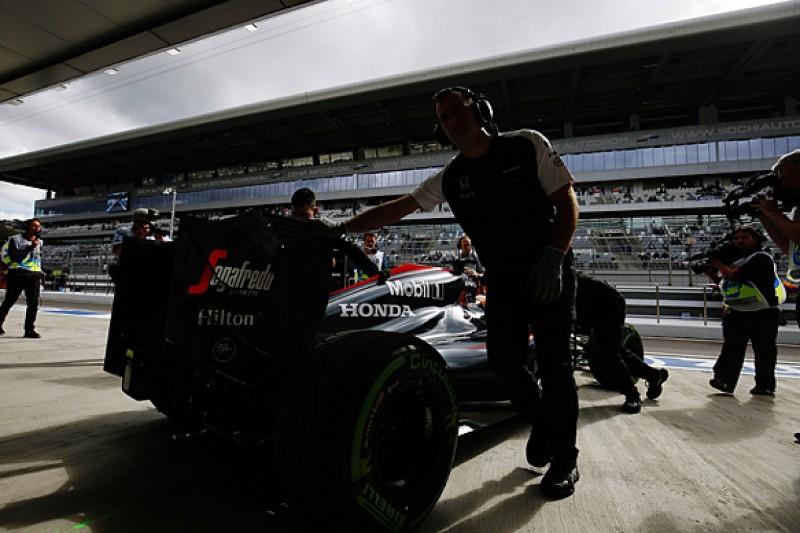 Russian GP: Engine penalties for Fernando Alonso and Roberto Merhi