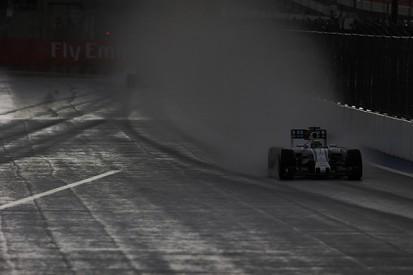 Russian GP: Felipe Massa fastest as rain spoils Friday F1 practice