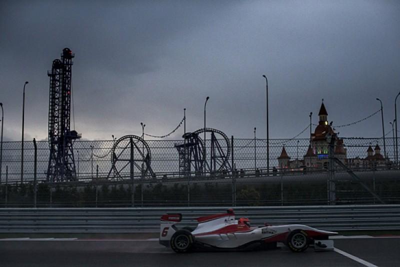 Sochi GP3: Esteban Ocon fastest in gloomy practice