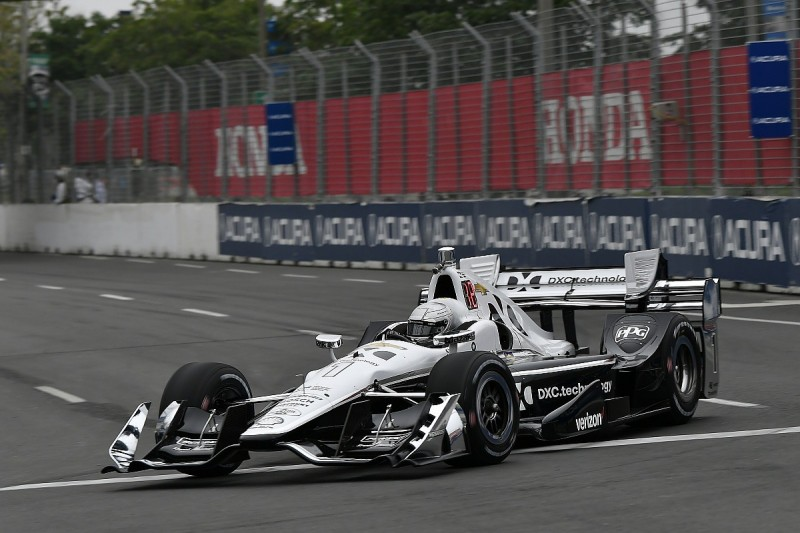 Toronto IndyCar: Pagenaud heads team-mate Power in second practice