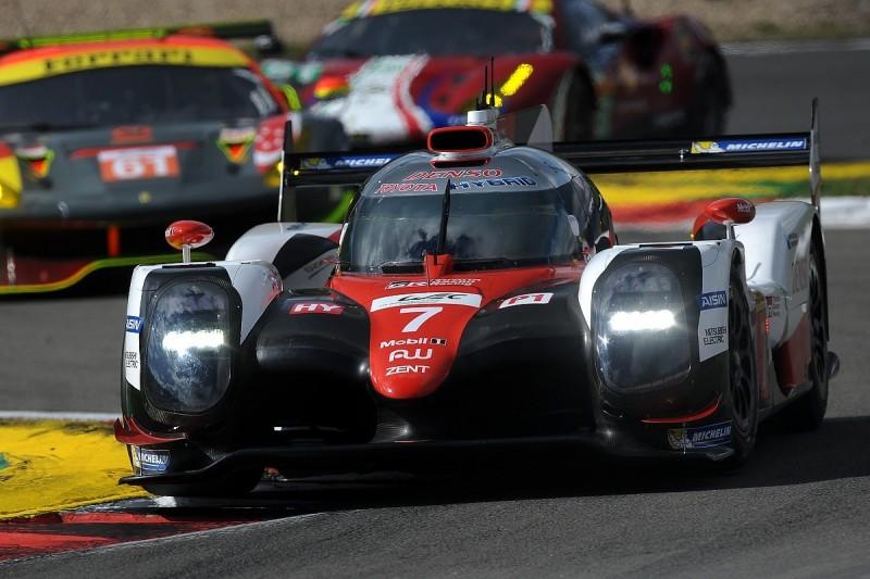 Nurburgring WEC: Toyota 1-2 beats Porsche in last practice session
