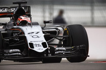 Russian GP: Nico Hulkenberg tops disrupted first practice