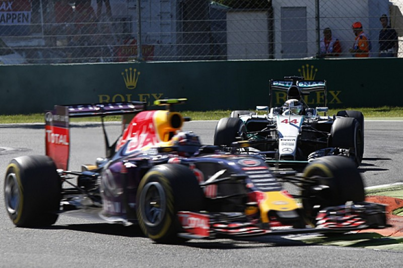 Lewis Hamilton: Red Bull shouldn't 'give up' on Formula 1