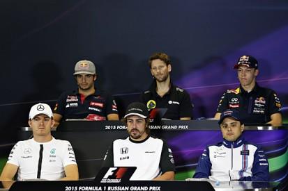 Russian GP: Thursday F1 press conference full transcript