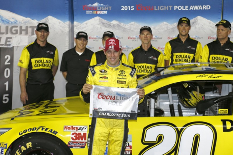 Charlotte NASCAR: Joe Gibbs Racing's Kenseth on pole at Charlotte