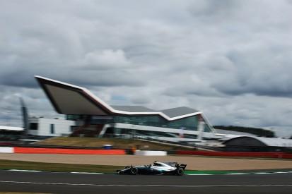 Bottas sets British GP practice pace as Vettel tries F1's shield