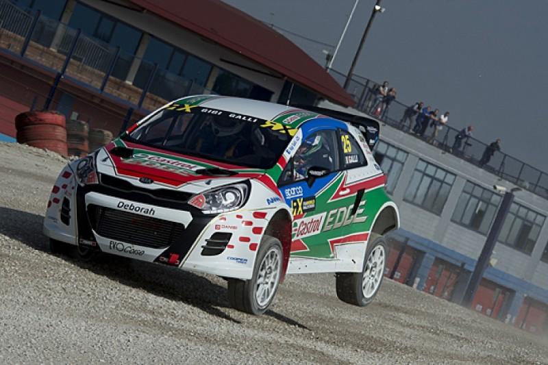 Ex-WRC driver Gigi Galli says Kia Rio is three-year World RX plan