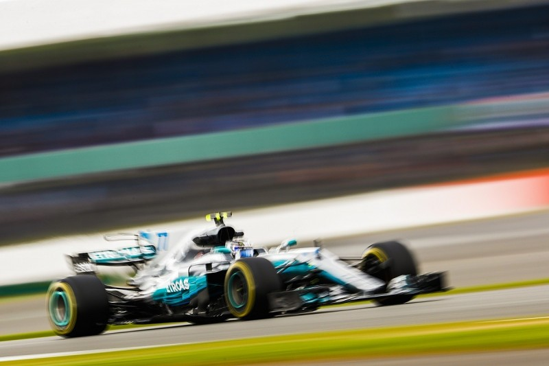 British Grand Prix: Bottas pips Hamilton in second Friday practice