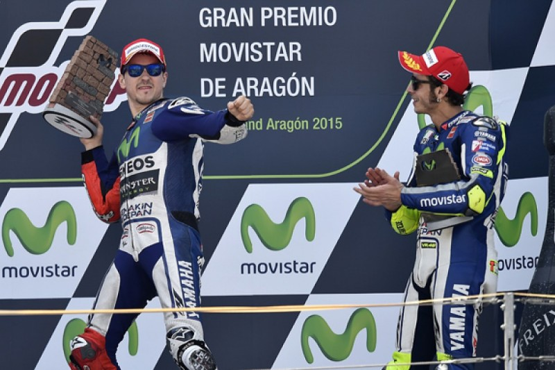 MotoGP title rival Lorenzo close to perfection, says Yamaha's Rossi