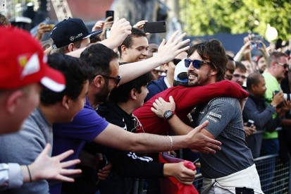 Fernando Alonso hopes live London F1 event 'first of many'